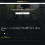 Journey to The West: The Demons Strike Back Movie Free Streaming @ SBS on Demand ($3.99 Rental on Google Play)