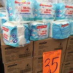 Hygiene Plus Antibacterial Wipes $35/1200 Wipes ($3.50/120 Wipes) @ Bunnings (WA)