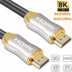 Reayou 8K HDMI Cable 1M $15.26 + Delivery ($0 with Prime/ $39 Spend) @ Sparks Au via Amazon