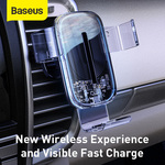 Baseus 15W Fast Wireless Charging Air Vent Car Phone Holder  A$19.98 Delivered @ eSkybird