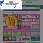 1/2 Price off RRP Selected Big Brand Vitamins, Cosmetics & More @ Chemist Warehouse