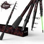 Telescopic Carbon Fibre + Fibreglass Fishing Rod 210cm $33.01 + Delivery - Amazon AU from Amazon US