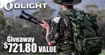 Win a Javelot Turbo Torch & a MR40 High Range Outdoors Outback Worth $721.80 from Olight Australia
