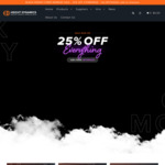 Black Friday: 25% off Storewide @ Height Dynamics