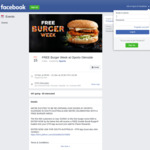 [SA] Free Double Bondi Burger via Online Form & OTR App @ Oporto (Glenside)