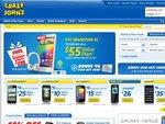 Samsung Galaxy SII - Crazy Johns - Free on $35 Plan Plus Free $50 Visa Gift Card