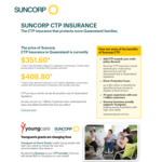 [QLD] Switch to Suncorp CTP Insurance before Renewing Your Rego and Get a $50 Gift Card