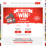 Win a Share of $6,737,500 Worth of Gift Cards/Grocery Items +/- 1 of 4 $5,000 Cash Prizes from Metcash