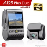 VIOFO A129 Plus Duo Dual Channel 2K Dashcam $229.95 + $14.99 Delivery @ Shopping Square