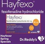 70x Cetirizine 10mg (Generic Zyrtec) + 70x Hayfexo Fexofenadine (Generic Telfast) $20.99 Delivered @ PharmacySavings