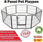 8 Panel Dog Playpen / Caged Enclosure $104 + Free Delivery (Select Areas) @ PickPro