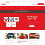 10% off Click & Collect Orders (Min Order $180) @ Coles