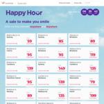 Virgin Happy Hour: Syd ↔ Ballina $59, MEL ↔ Newcastle $79, SYD ↔ Bris $85, PER ↔ SYD/MEL $199 & More @ Virgin Australia