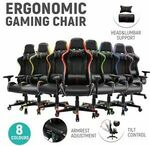 $50 off HOMEFUN Ergonomic Gaming Chair $129 + Delivery @ Housenliving eBay