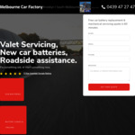 [VIC] 50% off Retail Car Battery Replacement @ Melbourne Car Factory
