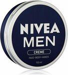 [Prime] NIVEA MEN Moisturising Crème 150ml $3.24 Delivered @ Amazon AU