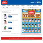 50% off RRP on Nature's Way/Blackmores/Cenovis/Nature's Own/Swisse Vitamins (selected range) C&C /+ Delivery - Chemist Warehouse
