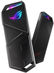 ASUS ROG STRIX ARION M.2 NVMe RGB SSD Enclosure $49 + $9.90 Delivery (Free Pickup at Auburn NSW) @ PCByte