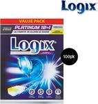 Logix Platinum Dishwashing Tablets 100 Pk $16.99 @ ALDI