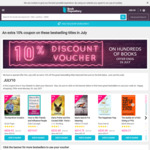 10% Discount Voucher on Hundreds of Books @ Book Depository
