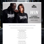 Win a Men's or Women's Clothing Pack Worth $300 from Lonsdale London