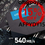 """[Afterpay] Crucial MX500 240GB 2.5"""" SSD $50.15 Delivered @ Shopping Express eBay"""