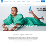 AmEx Statement Credits: Spend $100 or More, Get $20 Back up to 2 Times (Vogue Fashion's Night In)