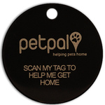 Petpal Dog/Cat QR Enabled ID Tag - petpalidtags.com [75% Discount - Was $20. Now $5]