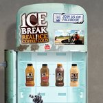Free Ice Break Iced Coffee Milk Drink (500ml) outside Freshwater Place, Queens St Melbourne