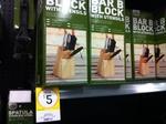 Jackeroo Bar-B-Block with Utensils (Spatula, 6 Steak Knifes, Tongs, Knife) $5.00 - Kmart Townsville