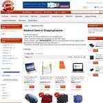 Asus VivoBook Touch $399, HP Envy X2 Tablet/Ultrabook $775, Kingston 32GB SD Class 10 $24