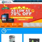 GeekBuying 1st Birthday Celebration Sale - Up to 70% Off