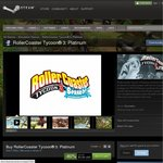 Roller Coaster Tycoon 3: Platinum for $3.99 USD usually $19.99 - On Steam