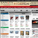 Sanity Online 30% off Boxsets and Multipacks