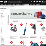 20% off Dyson Vacuum Cleaners @ Myer - Maybe Further 10% off @ Masters Via Best Price Guarantee