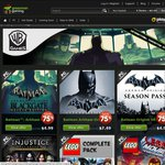 GreenManGaming Day 6 Deals: upto 75% off UbiSoft & Warner Bros eg The Lego Movie Videogame $7.49