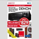 Denon AVR-X500 AV Receiver + Dali Concept Speaker Pack - $829 + $49.95 Shipping @ Grays **Extend