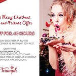 40% off Full Price - Triumph Lingerie - Triumph's Merry Christmas Friends & Family Offer