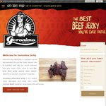 50% off Any Flavour of Geronimo Jerky's 40g Bags of Jerky + Postage