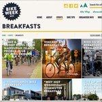 WA Bike Week Free Breakfast