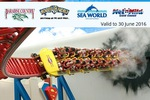 Groupon - Theme Park VIP Pass (Movie World/Sea World/Wet N Wild) - $67.99 (with Code) Save $82.01