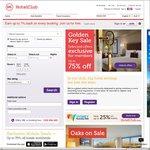 HotelClub 20% off (USA, Thailand, Europe, UK)