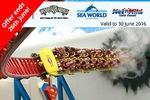 $67.99 1 Year QLD Theme Park VIP Plus Pass (Movie World + Seaworld + Wet n' Wild + Paradise Country) via Groupon