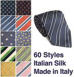 Over 90% off Mens Avenue Italian Silk Ties - 60 Styles - $4 + $2 Post @ Avenue Clothing eBay