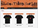 Random Things for Sale - EL T-Shirt $12.95 and Panels $11.95 Coupons (Including Delivery) Sizes Small & Extra Small Only