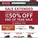 Ray's Outdoors - up to 50% off End of Year Sale