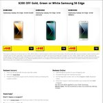 Samsung Galaxy S6 Edge (Gold, Green or White) $798 ($200 off) @ JB Hi-Fi ($598 w/ $200 Trade in)