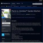 Plants Vs Zombies: Garden Warfare PS4 Now $10.99 (Was $54.95) on AU PSN