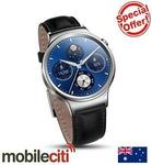 Huawei W1 SmartWatch Sale - Leather $394.92, Black Steel $527.22 Delivered @ Mobileciti eBay
