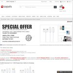 [New Registrants] Free 3-in-1 Micro-USB, 30-Pin and Lightning Charge and Sync Cable at Zapals